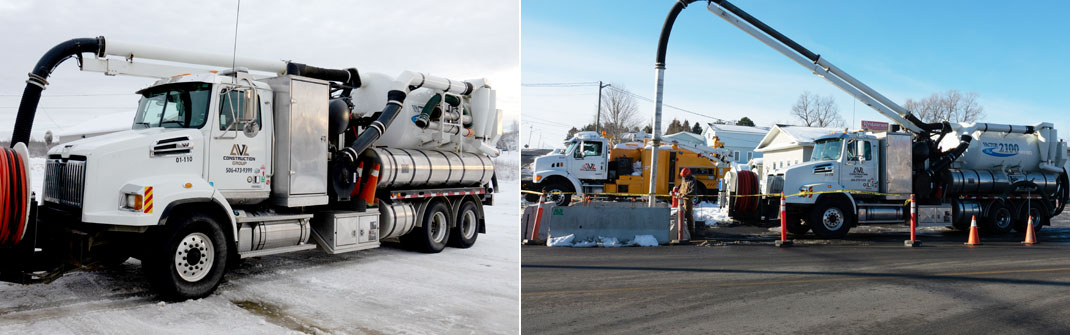 AVL Construction Group - Hydrovac Truck